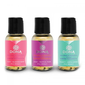 Dona Duftendes Massageöl 3x30ml
